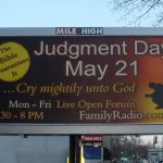 The Backfire Effect of Harold Camping