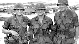 Hal Moore and fellow soldiers