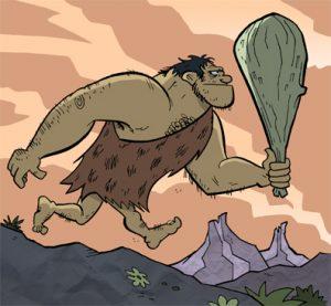 caveman, dress, old school, evolution