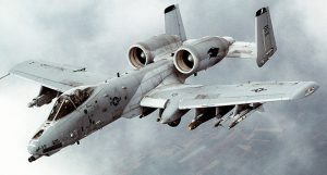 A-10 Warthog, airplane made for fighting