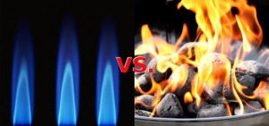 The battle between gas and charcoal grills for Memorial Day