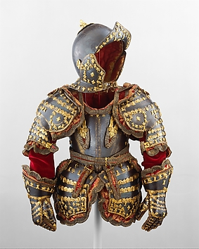 Armor, French, Art