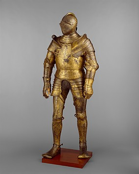 Armor, King, Henry, England, Art