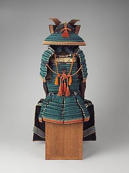 Armor, Japanese, Samurai, Art