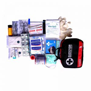 medical kit contents needed for camping