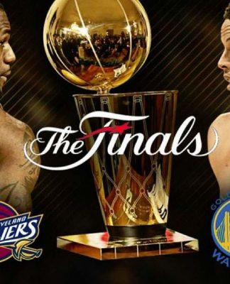 LeBron James and Steph Curry will lead their teams against each other in the NBA Finals