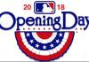 2018 MLB Season Opening Day Logo
