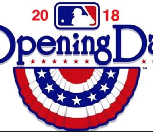 2018 MLB Season Opening Day Logo