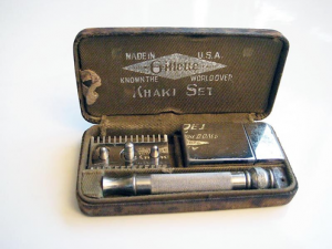 WW1 standard issue shaving kit
