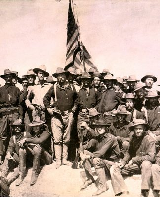 Teddy Roosevelt and the Rough Riders