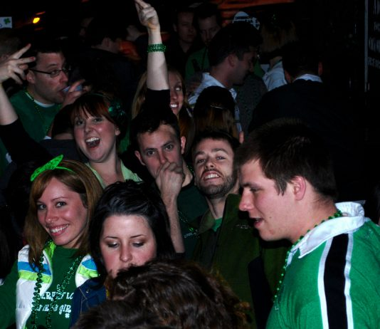 St. Patties at the bar