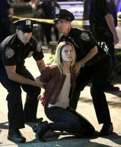 Trish Walker Getting Arrested