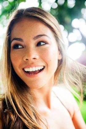 Close up of Annika Bauer Smiling