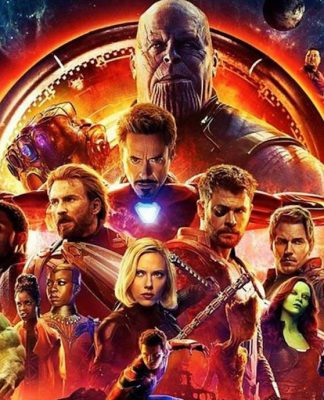 The Avengers: Infinity War Poster