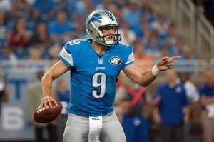 Lions quarterback looking unremarkable, causing overreaction