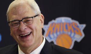 New York Knicks President Phil Jackson