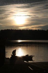 Fundamentals: Early morning boat prep.
