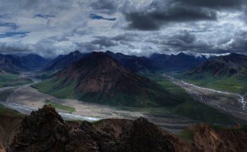 Large panoramic landscape image