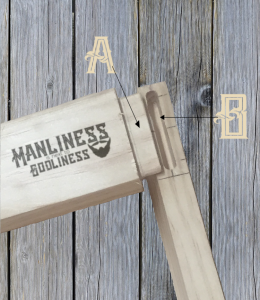 mortise tenon pic with grey wood background