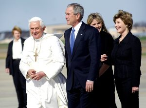 George W. Bush and the Pope