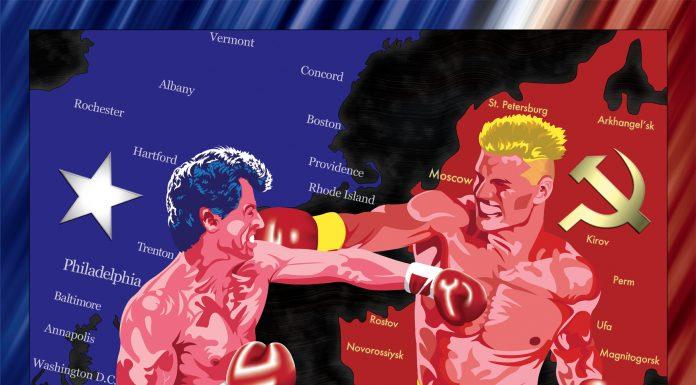 rocky, drago, punching, boxing