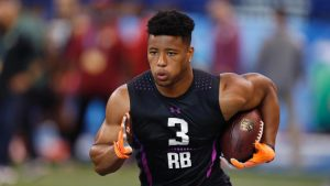 Saquon Barkley should be the top player taken in the NFL Draft