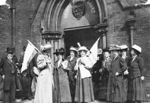 suffragettes international women's day