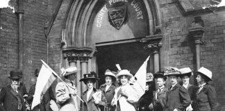 suffragettes international women's day