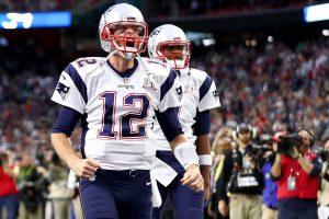 Tom Brady yelling