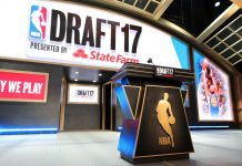 The stage at the NBA Draft