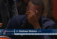 DeShaun Watson will likely be thrust into the starting role early.